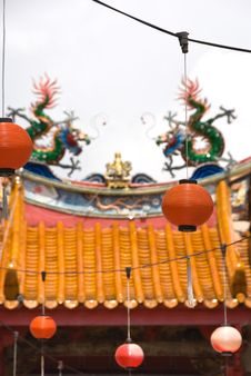 Free Chinese Buddhist Temple Stock Photos - 8586753