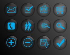 Free Buttons For Web Royalty Free Stock Images - 8587309