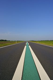 Free An Empty Road In Holland Royalty Free Stock Image - 8588406