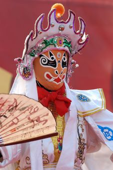 Free Sichuan Opera, Changing Faces_5 Stock Photos - 8588703