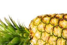 Free Pineapple On White Royalty Free Stock Photography - 8588817