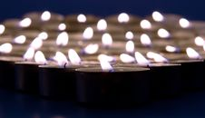 Free Candles Royalty Free Stock Image - 8588916
