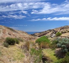 Free Hallett Cove Coastal Valley Royalty Free Stock Images - 8589179