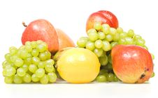 Free Fruits Isolated On White Royalty Free Stock Images - 8589739