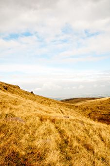 Free Open Moorland Royalty Free Stock Photos - 8589798