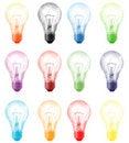 Free Light Bulb Royalty Free Stock Photo - 8590625