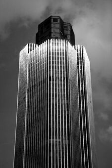 Free Abstract London Skyscraper In Black And White Stock Image - 8590001