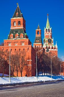Free Red Square And Kremlin Royalty Free Stock Photography - 8590667