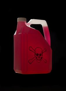 Free Can With Biohazard Content Stock Images - 8590784
