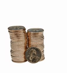 Free Stack Of Coins Stock Photos - 8591263