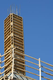 Free Wooden Scaffolding Stock Photography - 8591322