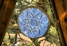 Free Blue Christmas Star Royalty Free Stock Image - 8591356