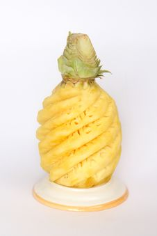 Free Pineapple 0001 Stock Photography - 8591952