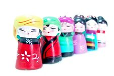 Free Chinese Figurines Royalty Free Stock Photography - 8592357