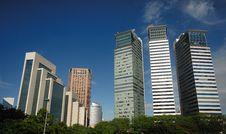 Free Kuala Lumpur Cityscape Royalty Free Stock Images - 8593029