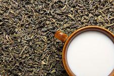 Free Milk & Tea Stock Photography - 8593802