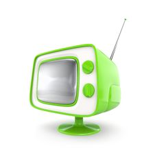 Free Stylish Retro TV Stock Photo - 8594850