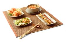 Free Asian Lunch 3 Royalty Free Stock Photos - 8595318