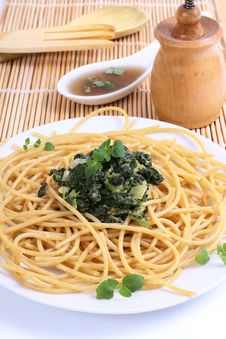 Free Pasta Spaghetti Stock Image - 8595481