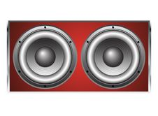 Free Large Loudspeaker Cabinet Royalty Free Stock Images - 8595569