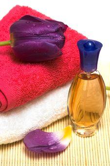 Free Bottle With Perfume Stock Image - 8596051