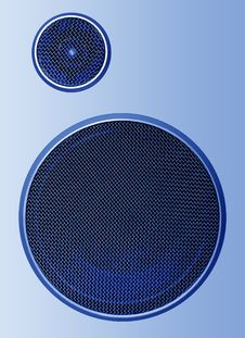 Free Audio Speaker Royalty Free Stock Images - 8596079