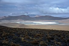 Free Lagoon On Altiplano In Bolivia,Bolivia Stock Images - 8596154