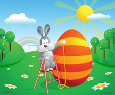 Free Easter Illustration Royalty Free Stock Photography - 8596587