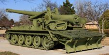 Free M110-A2 Howitzer Restoration Royalty Free Stock Image - 8596986