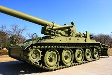 Free M110-A2 Howitzer Royalty Free Stock Photos - 8597058