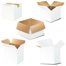 Free Cardboard Boxes Stock Images - 8597084