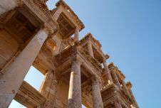Free Library Of Celsus, Ephesus, Turkey Royalty Free Stock Photography - 8597607