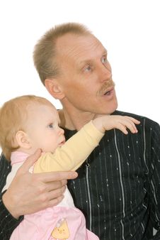 Free Father And Daughter Stock Photography - 8597612