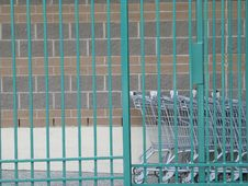 Free Shopping Carts Stock Photography - 8597972