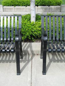Free Black Bench Stock Photos - 8598413