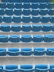 Free Blue Seats Stock Photo - 8598470