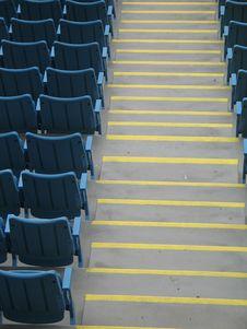 Free Blue Seats Stock Photo - 8598490