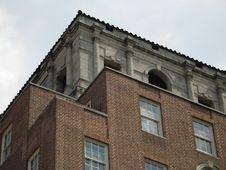 Free Brick Building Royalty Free Stock Photo - 8598775