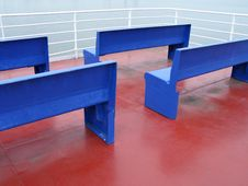Free Blue Seats Royalty Free Stock Photos - 8598848