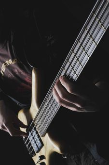 The Electroguitar Royalty Free Stock Photography