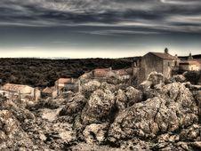Free Adriatic Village Royalty Free Stock Photos - 8599038