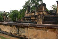 Ruins Of Polonnaruwa Stock Images