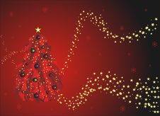 Free Red Christmas Greeting Card Stock Images - 8599394