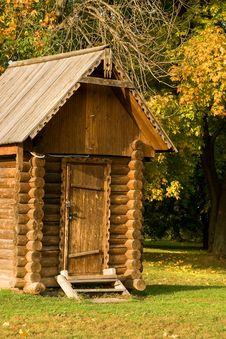 Free Log House Royalty Free Stock Photos - 8599418