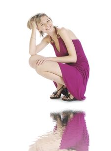 Free Pink Reflection Royalty Free Stock Photos - 8599888