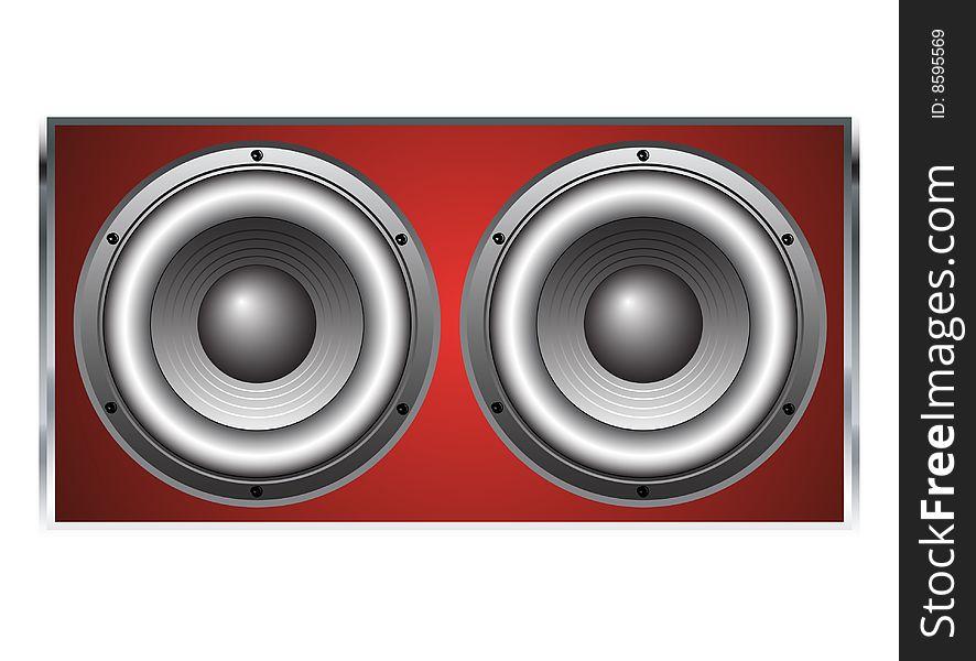 Large Loudspeaker Cabinet
