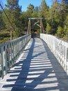 Free Suspension Bridge Royalty Free Stock Image - 862956