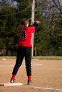 Free Female Softball Player Royalty Free Stock Photos - 868838