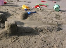 Free Beach Toys Royalty Free Stock Image - 860956