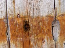 Weathered Wooden Doors Stock Photography